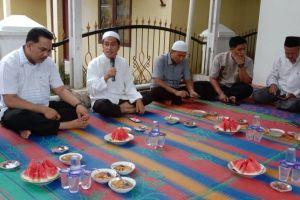 buka puasa bersama yang diadakan dirumah dinas Pengadilan Agama Sibolga