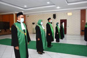 Pengadilan Agama Sibolga Ikut PPKM (Pelantikan Para Ketua diMedan)