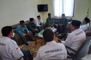 Kunjungan Kepala Kantor Urusan Agama (KUA) empat kecamatan wilayah Sibolga